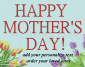 Personalize Mothers, Day Gift #04