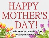 Personalize Mothers, Day  Gift - #00