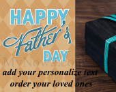 Personalize Fathers Day Gift #01