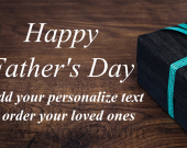 Personalize Fathers Day Gift #04