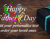 Personalize Fathers Day Gift #05