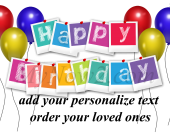 Personalize Birthday Gift #01