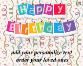 Personalize Birthday Gift #02