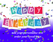 Personalize Birthday Gift #04