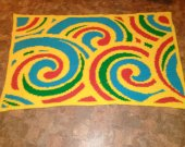 Childs blanket , Lapthrow or Wall Art