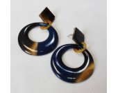 Buffalo horn earrings  - horn lacquer jewelry - best friend jewelry KAI-2688