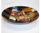 Horn Bowl   - Decorative horn bowl - Bol en corne - KAI-3501