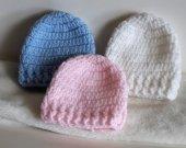 Micro Preemie Baby hats,Preemie baby Hats,Blue baby hat,2lb baby hats,NICU preemie hats,baby shower gifts,preemie babies