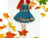 Tilda doll Gift for he rHandmade Collectible Baby Boudoir Fashion Fabric Art Cloth Room decor Cotton Nursery