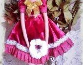 Gift for girl Tilda doll Room decor Puppet Boudoir Collectible Fashion Rag Cute Cloth Shelf Cotton Nursery Unique Art Textile Handmade