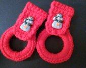 Christmas Kitchen Towel Holders