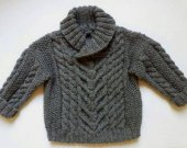 Knitted sweater for children,1,2,3,4.5 year