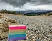 Cotton Candy Rainbow Glycerin Soap