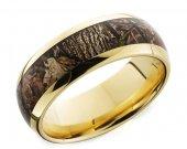 COI Tungsten Carbide Camo Wedding Band Ring - TG1879