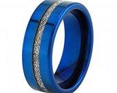 COI Tungsten Carbide Meteorite Wedding Band Ring - TG3961AA