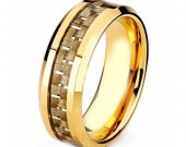 COI Tungsten Carbide Ring With Carbon Fiber - TG3971AA