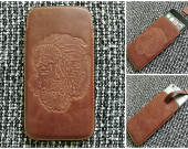 Leather case iPhone (6/7)