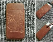 iPhone (6/7) leather case