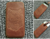 iPhone 6-7 leather case
