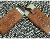 Leather case iPhone 6-7
