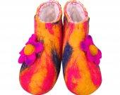 Uggebi Shoes for Home Orange&Red Color