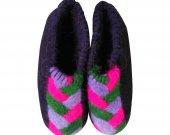 Uggebi Shoes for Home Black&Pink Color