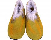 Uggebi Shoes for Home Yellow Color