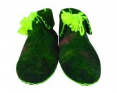 Uggebi Shoes for Home Green Color