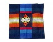 "Hand Woven Cushion Cover Unique Design Square Ancient Amazing Design 16"" x 16"""