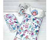 Sleeping Bag, Newborn Swaddle Blanket, Sleep Sack, Baby Blanket, Baby Swaddle Wrap, Stroller Blanket, Take home outfit