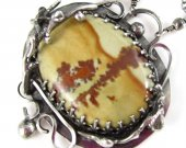 Jasper Cacti Necklace