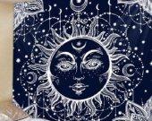 Fabric Wall Tapestry/Throw Sun Mandela New