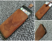 Leather case iphone 6/7
