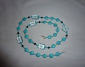 Turquoise Necklace, blue necklace, turquoise jewelry
