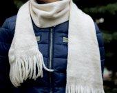 scarf with fringe, warm scarf