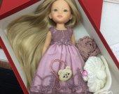 gift for girl ,doll present , paola reina , collectible doll , interior doll , present for girl , doll cloth , doll for girl , toys , decor