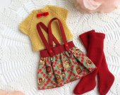 Clothes for 13 inch doll. paola reina clothes , paola reina skirt , paola reina outfit , paola reina , maru skirt ,