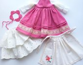 Doll clothes . for 13 inch doll . paola reina, dianna effner little darling and similar size doll.