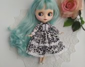 Blythe dress - Blythe clothes - Blythe - Blythe outfit - dress - pullip dress - doll clothes - doll dress - handmade -pullip