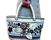 Posh handmade bag, Gift for woman