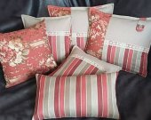 A set of 6 pillows in the country style