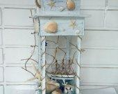 Sea lantern, Beach Decor, Beach Wedding Decor, Coastal Decor, Shell, SeaShell,