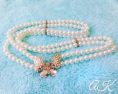 Belt, Wedding Belt, Pearl Belt, Crystal, Butterfly