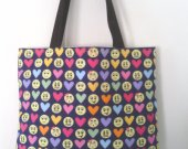 Your Inner Emoji W/ Love Medium Size Tote