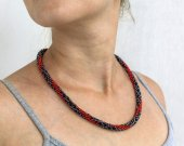 "Necklace ""red-bellied snake"""