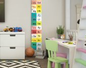 Growth chart Aphabet, Primary school ABC, Aphabet visual material, first grader gift, Gift for baby