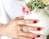 Sixer RING SET | Handmade | SIZE 4 | Fine Jewellery | Australian Shop | NEW