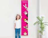 Growth chart pets, Growth ruler, animal wall decor, nursery decor, pets print, height chart