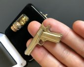 Miniature 2mm pinfire gun Colt 1911