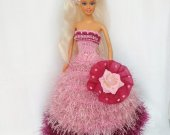 Handmade clothes for fashion dolls Knitted dresses for Barbie New collection 12""